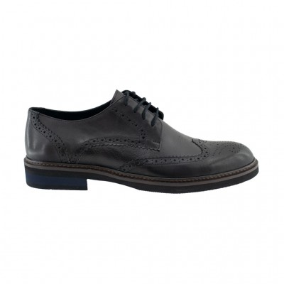 VICE LEATHER OXFORD 42015 ΜΑΥΡΟ
