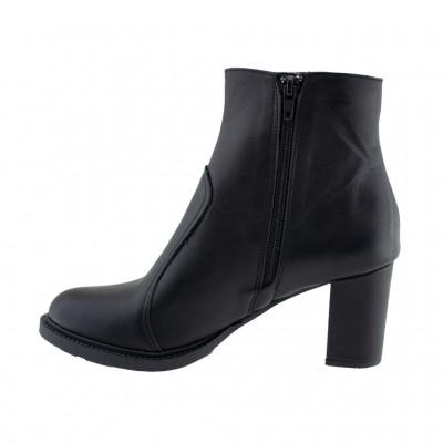 MAROLI LEATHER BOOTS ΜΑΥΡΟ KA199559
