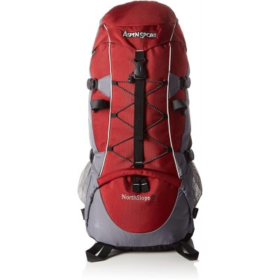 ASPENSPORT BACKPACK NORTH SIOPE 55 LITER RED/GREY AB06Y02