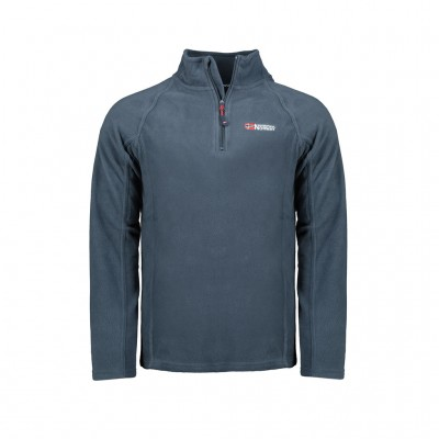 GEOGRAPHICAL NORWAY TUG HALF ZIP WT1082H/GN ΜΠΛΕ