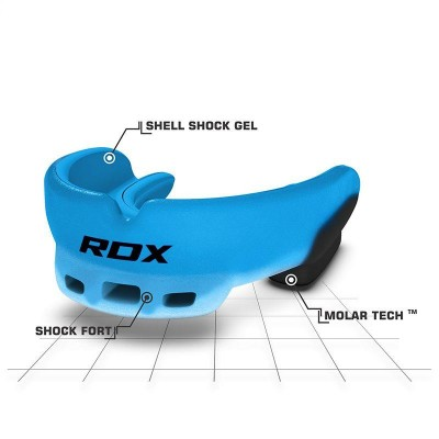 RDX 3U BLUE MOUTH GUARD KIDS GGS-3U