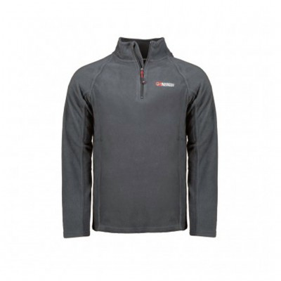 GEOGRAPHICAL NORWAY TUG HALF ZIP WT1082H/GN ΑΝΘΡΑΚΙ