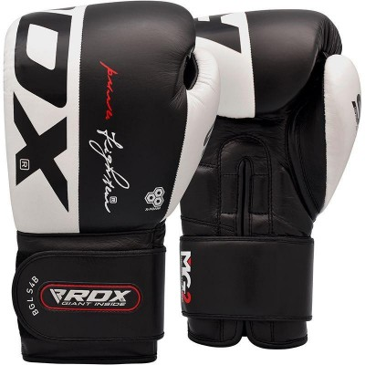 RDX S4 LEATHER SPARRING BOXING GLOVES BGL-S4B