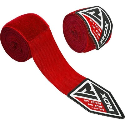 RDX HW PROFESSIONAL BOXING HAND WRAPS  RED HWX-R