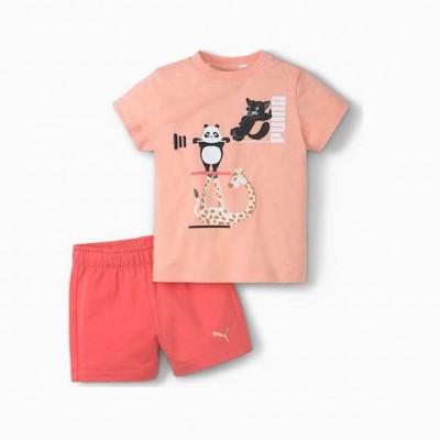 PUMA PAW INFANTS SET 599815 26 PINK
