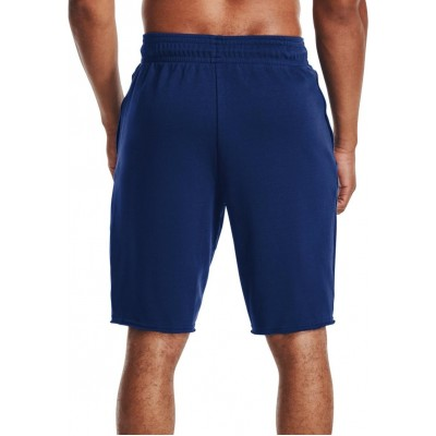 UNDER ARMOUR RIVAL TERRY SHORT 1361629 415 ROYAL