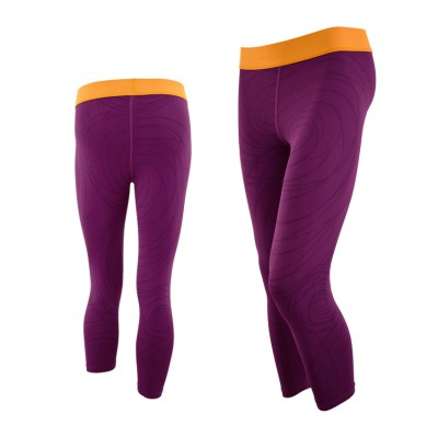 DESIGUAL TIGHT PANT CAPRI 67K25B1 PURPLE