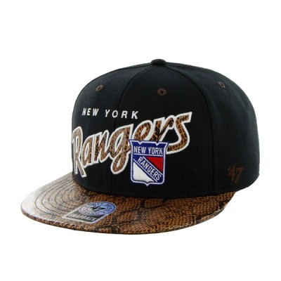47 OFFICIAL NHL CUP RANGERS BLK