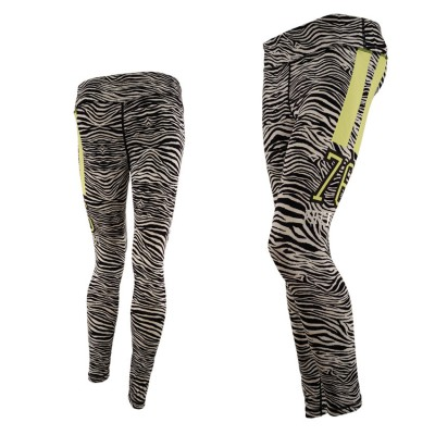 FREDDY TIGHT PANT 7 8 CAPRI SFIT7DCST   ZEBRA