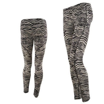 FREDDY TIGHT PANT 7 8 CAPRI WR7S7C  ZEBRA