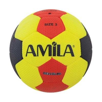 ΜΠΑΛΑ AMILA HANDBALL CELLUAR SIZE 3 57-60 CM 41323