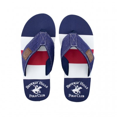 POLO CLUB BEVERLY HILLS SANDAL 1772 BLUE RED